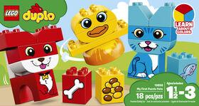 LEGO DUPLO My First Mon premier puzzle des animaux 10858