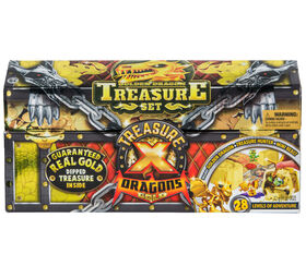 Treasure X Golden Dragon Treasure Set