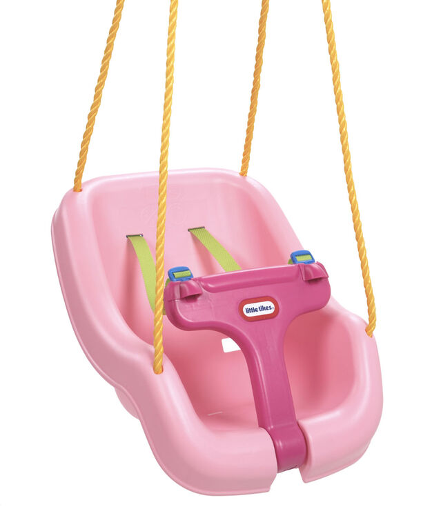 Little Tikes - 2-in-1 Snug 'N Secure Swing - Pink