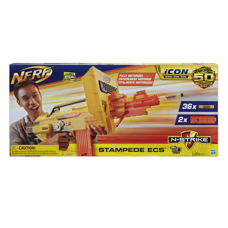 Stampede ECS Nerf N-Strike Motorized Blaster