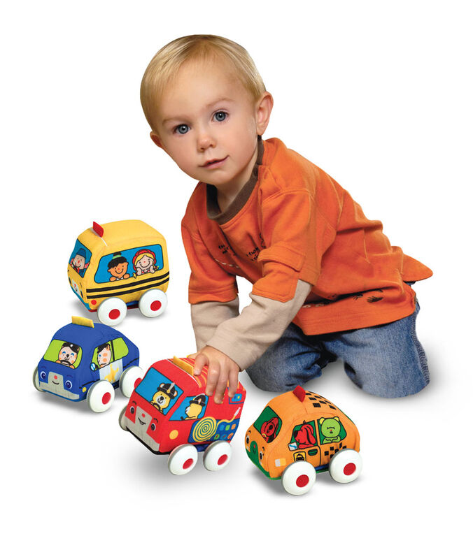 Melissa & Doug - Pull-Back Vehicles