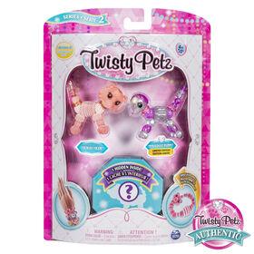 Twisty Petz, Series 2 3-Pack, Tickles Tiger, Pixiedust Puppy and Surprise Collectible Bracelet Set