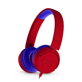 JBL JR300 Kids on-ear Headphones - Spider Red