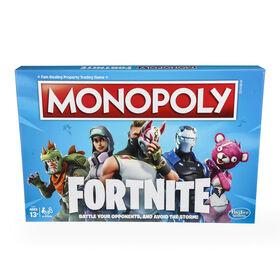 Hasbro Gaming Monopoly: Fortnite Edition Board Game - Bilingual Edition