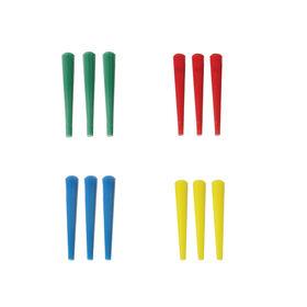 recharge de 12 marqueurs en plastique pour jeu de Cribbage
