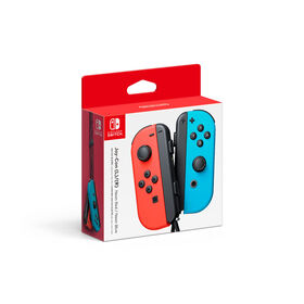Nintendo Switch - Left and Right Joy-Con Controllers - Neon Red/Neon Blue
