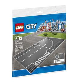 LEGO City - T-Junction & Curve (7281)