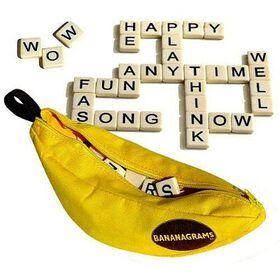 Bananagrams Word Game - English Edition