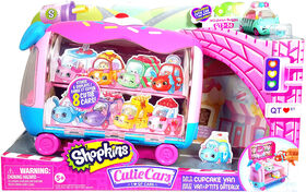 Shopkins Cutie Car - Play 'N' Display Cupcake Van