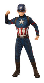 Captain America Costume - Large 12-14
