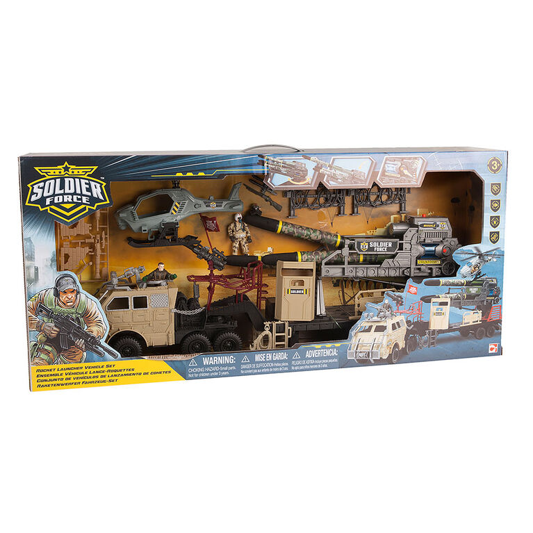 Soldier Force Rocket Launcher Vehicle Set - R Exclusive