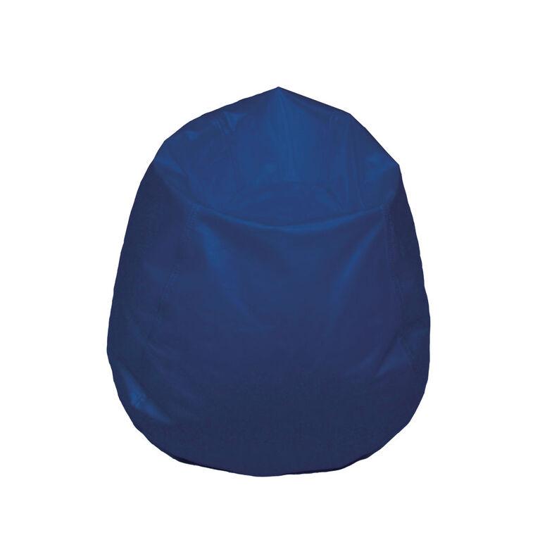 Boscoman - Youth-Size Round Bean Bag - Blue