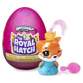 Hatchimals CollEGGtibles, Royal 1-Pack with Accessory, (Styles May Vary)