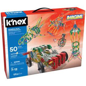 K'Nex Power & Play Motorized 50 Model Set