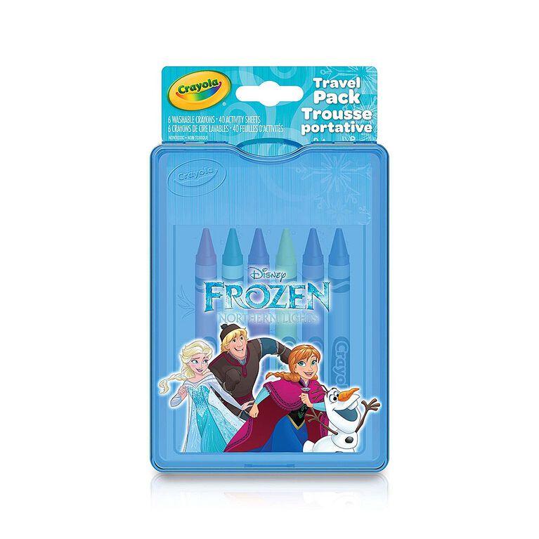 Crayola Disney Frozen, Travel Pack