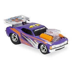 Fast Lane Jump Starters Shaking Muscle Car - Purple