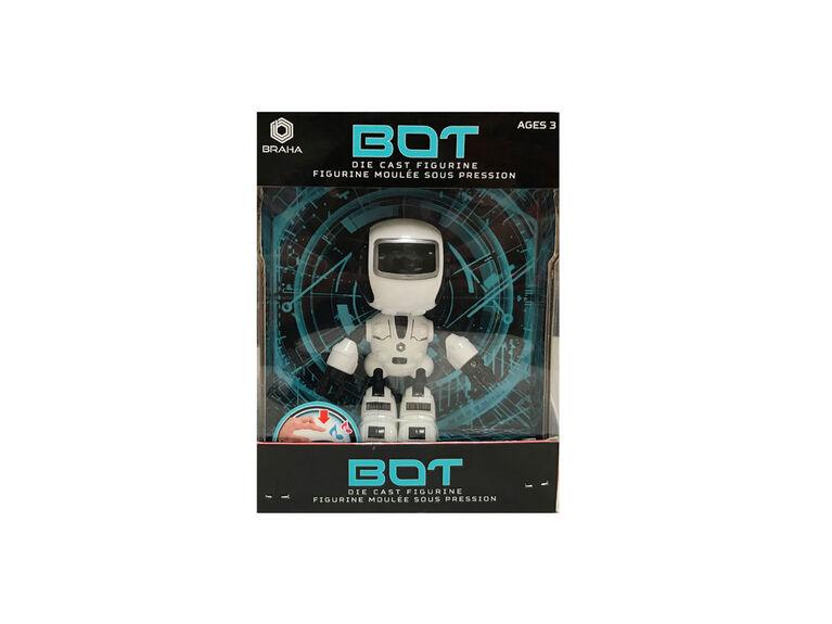 Braha Infrared Control Full Function Robot - White