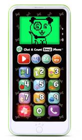 LeapFrog Chat & Count Emoji Phone - Green - English Edition