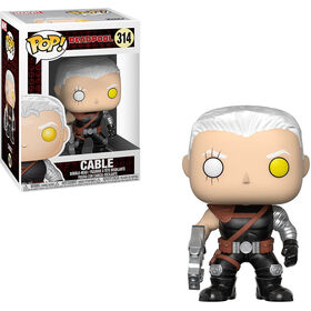 Funko POP! Marvel: Deadpool - Cable Vinyl Figure