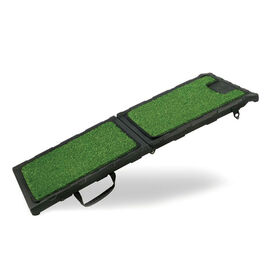 Gen7Pets Natural-Step Mini Ramp 42in - Poly-Grass