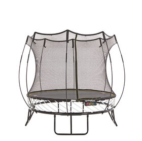 Springfree 8 ft x Compact Round Trampoline with Safety Enclosure