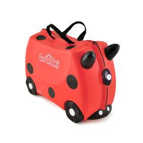 Trunki Ride-On-Suitcase - Harley Ladybird