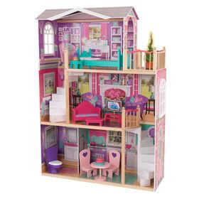 KidKraft - 18-Inch Dollhouse Doll Manor