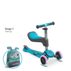 smarTrike - T1 scooTer - Blue - R Exclusive