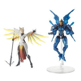 Overwatch Ultimates Series Pharah and Mercy Dual Pack