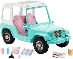 Barbie Pink Passport Jeep - R Exclusive