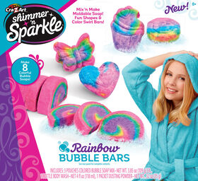 Shimmer and Sparkle Make Your Own Rainbow Bubble Bars