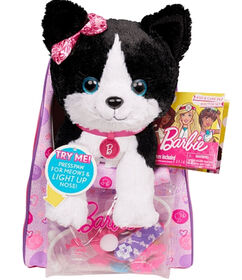 Barbie Vet Bag Set – Black and White Kitty with Pink Backpack