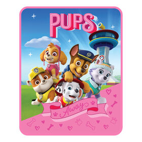 "Paw Patrol ""Always Pups"" Silk Touch Throw"