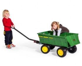 Peg Perego - John Deere Farm wagon for Peg Perego's Children's riding tractors
