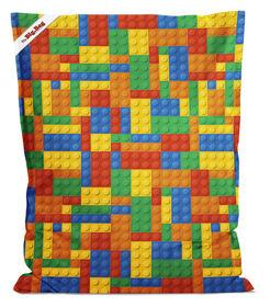 Gouchee Design - Little Bigbag Digital Print Beanbag - Bricks