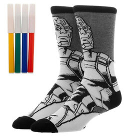 Captain America Colour Yourself Crew Socks