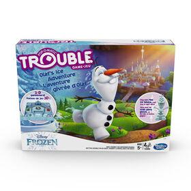 Trouble : édition L'aventure givrée d'Olaf de La Reine des neiges de Disney