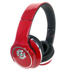 Wireless Twisting Headphone-To-Speaker - Red