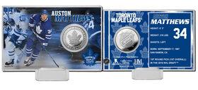 Auston Matthews NHL Silver Coin Card
