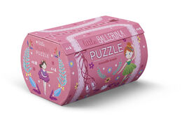 Crocodile Creek - Little Princess Double Fun 48 piece Jigsaw Puzzle in Purse Shaped Box