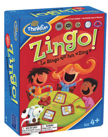Thinkfun games - Zingo! Bingo with a Zing - Édition française