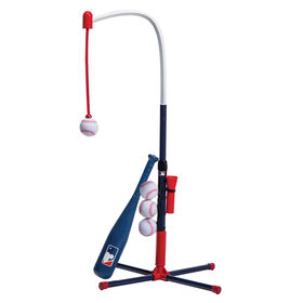Franklin Sports MLB 2 -in-1 Grow-With-Me Batting Tee