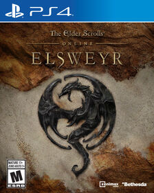 PlayStation 4 The Elder Scrolls Online Elsweyr