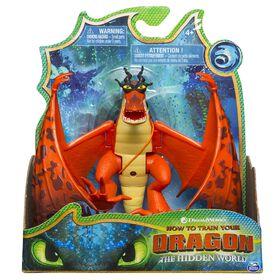 Comment entraîner son dragon, Crochefer, figurine dragon avec pièces mobiles.