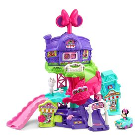 VTech Go! Go! Smart Wheels Minnie Mouse Around Town Playset - English Edition