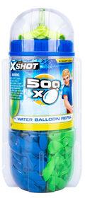 Zuru X-Shot 500 Water Balloons - Colours may vary