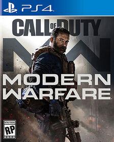 PlayStation 4 Call Of Duty Modern Warfare