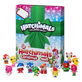 Hatchimals CollEGGtibles, 12 Hatchimals of Christmas Surprise Gift Set