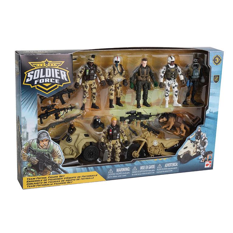 Soldier Force Team Patrol Figure Set - R Exclusive