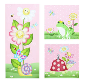 Fantasy Fields - Magic Garden Canvas Wall Art Set